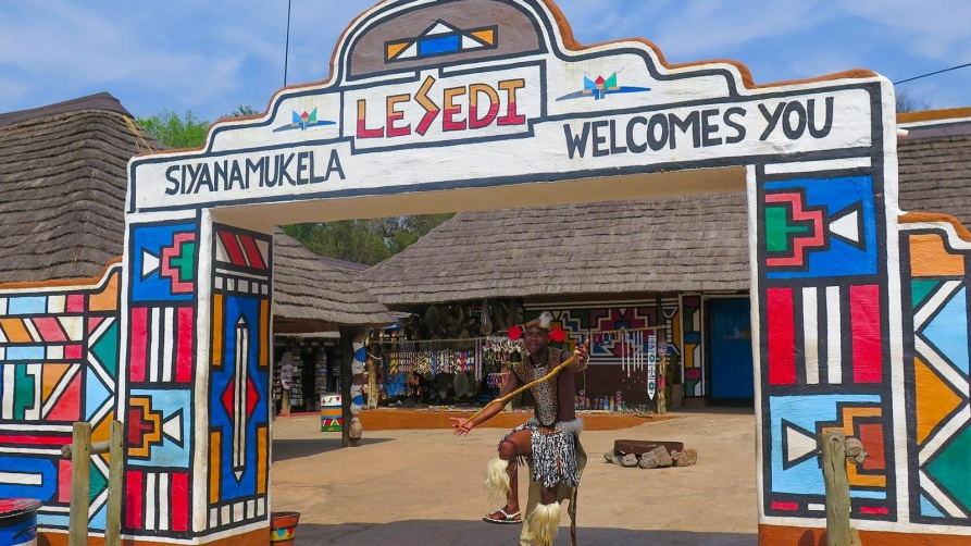 Lesedi; South African Rainbow Village
