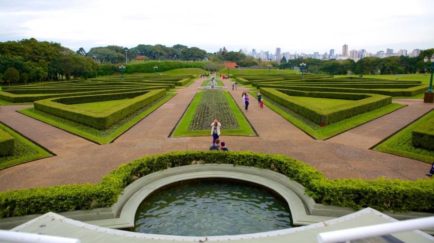 Botanical Garden Jardim Botanico; the largest botanical garden in Brazil