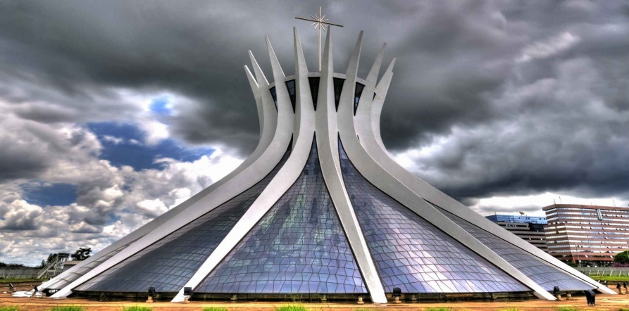 Brasilia Cathedral, Brazil 's most popular charm1