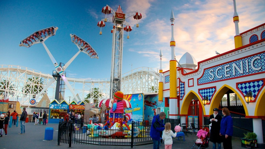 Luna Park Melbourne is a historic amusement park for Australian tourists