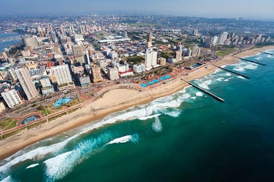 Durban's Golden Mile, KwaZulu-Natal