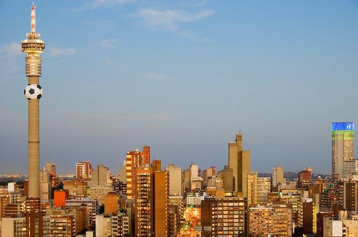 Johannesburg and Pretoria, Gauteng