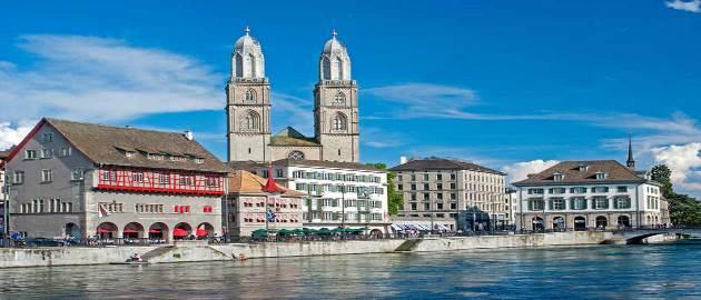 زوریخ ، بزرگترین ، قطب اقتصادی و فرهنگی شهر سوئیس